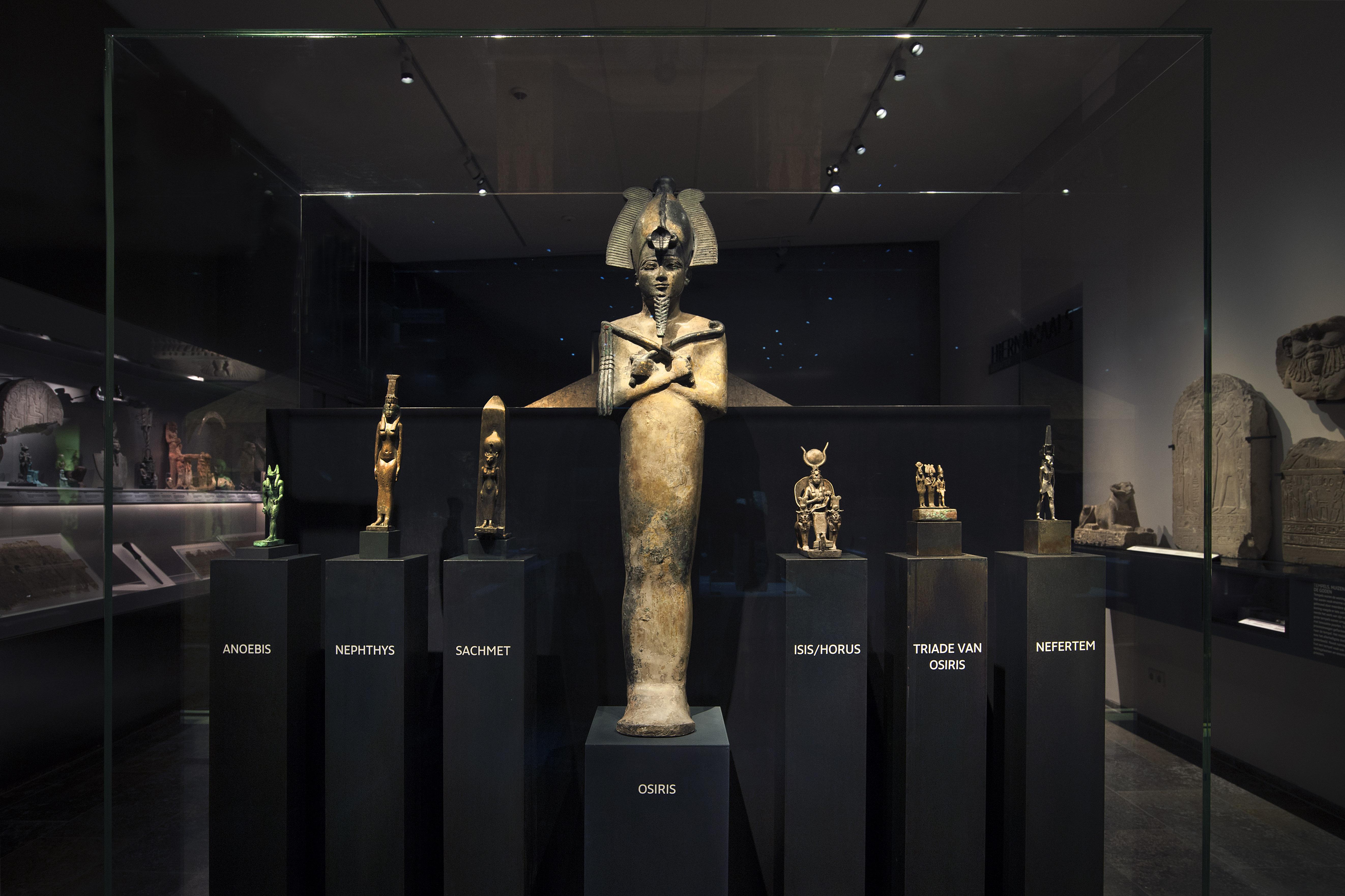 Nieuwe zalen Egyptische collectie Rijksmuseum van Oudheden foto Rob Overmeer 2 1